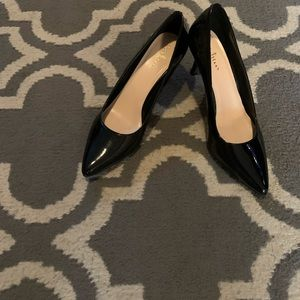 Cole Hahn Black Patent leather heels